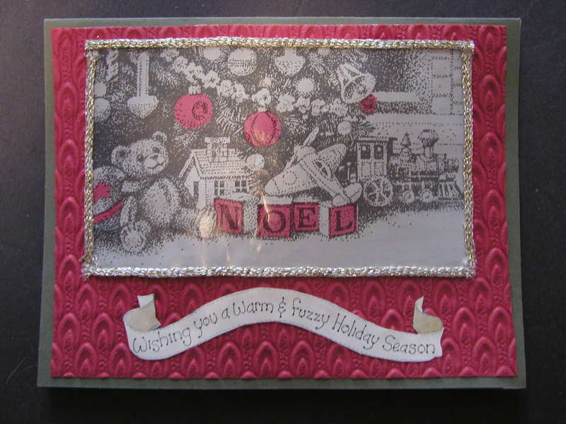Noel card- Front