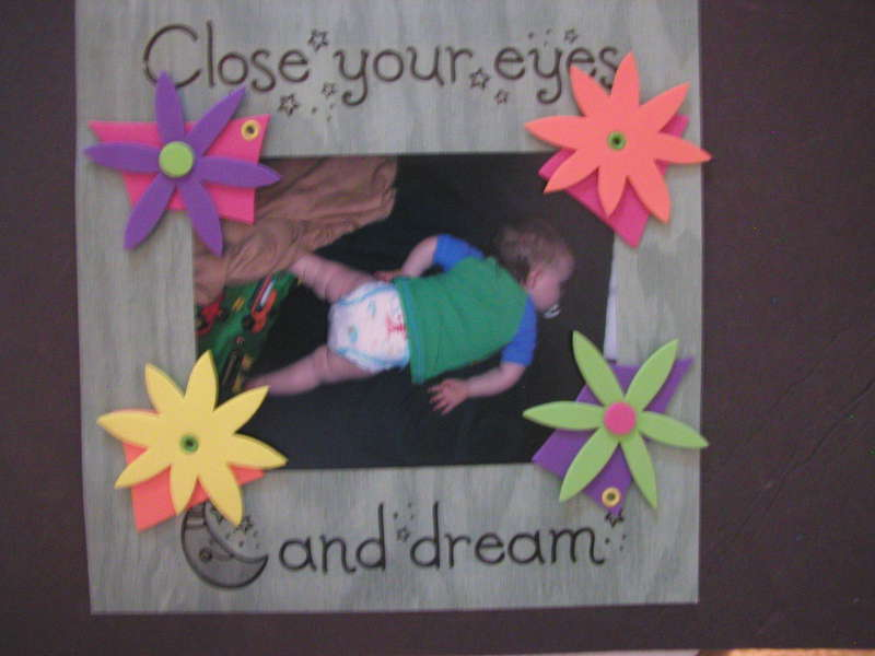 Close eyes and dream (decorated)