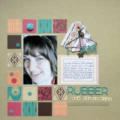 I Am Rubber *SFTIO*American Crafts*