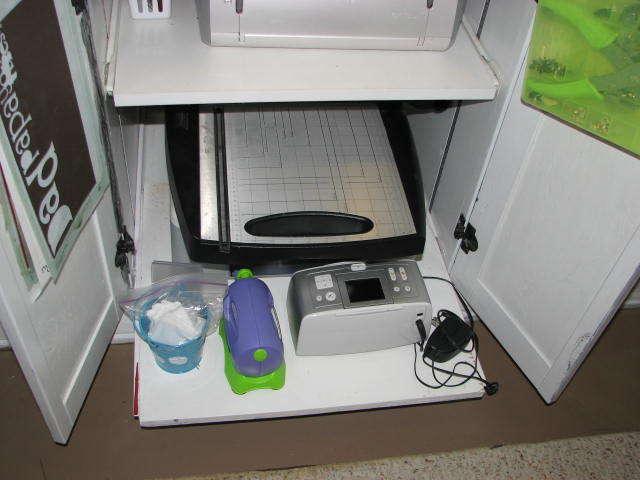 white dresser bottom pull out shelf