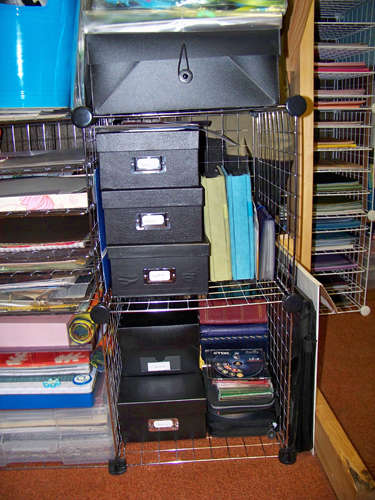 photo organization close up