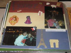 Visiting France pavilion in World Showcase EPCOT