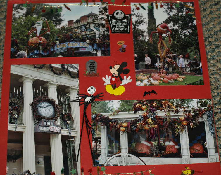 Haunted Mansion Holiday in Disneyland CA