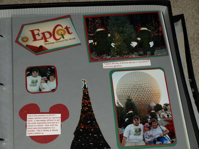 Christmastime in EPCOT