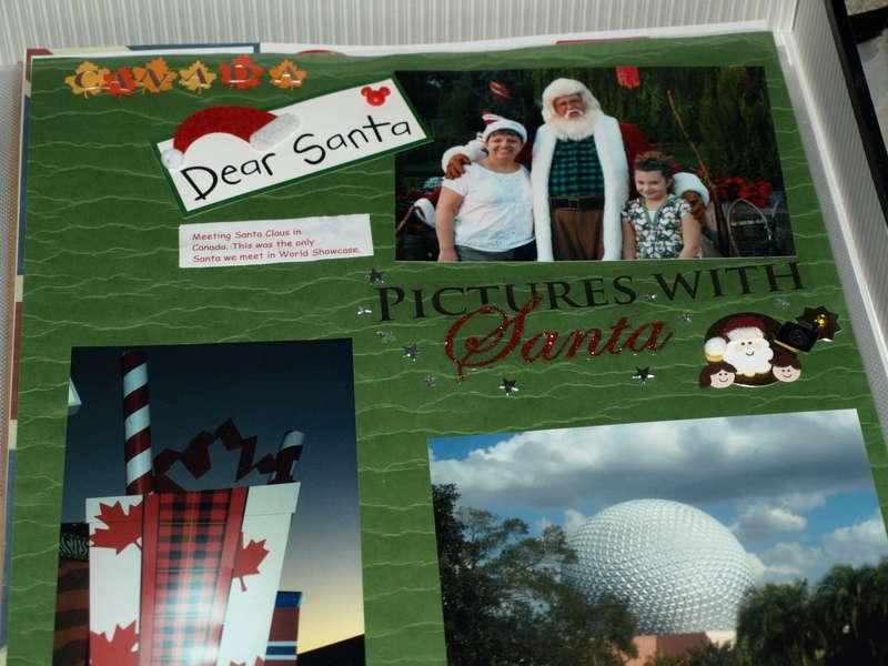 Meeting Santa in Canada Pavilion