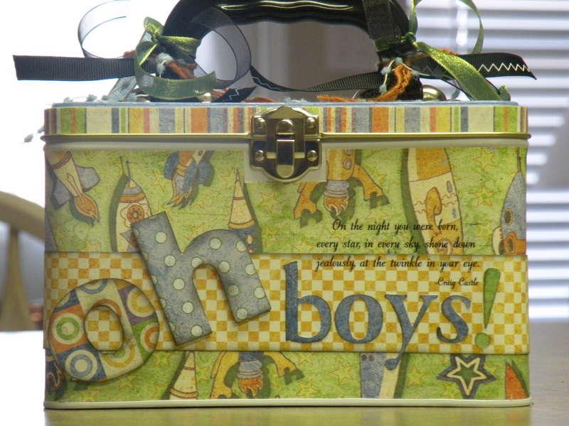 Baby Boy Lunchbox Tin