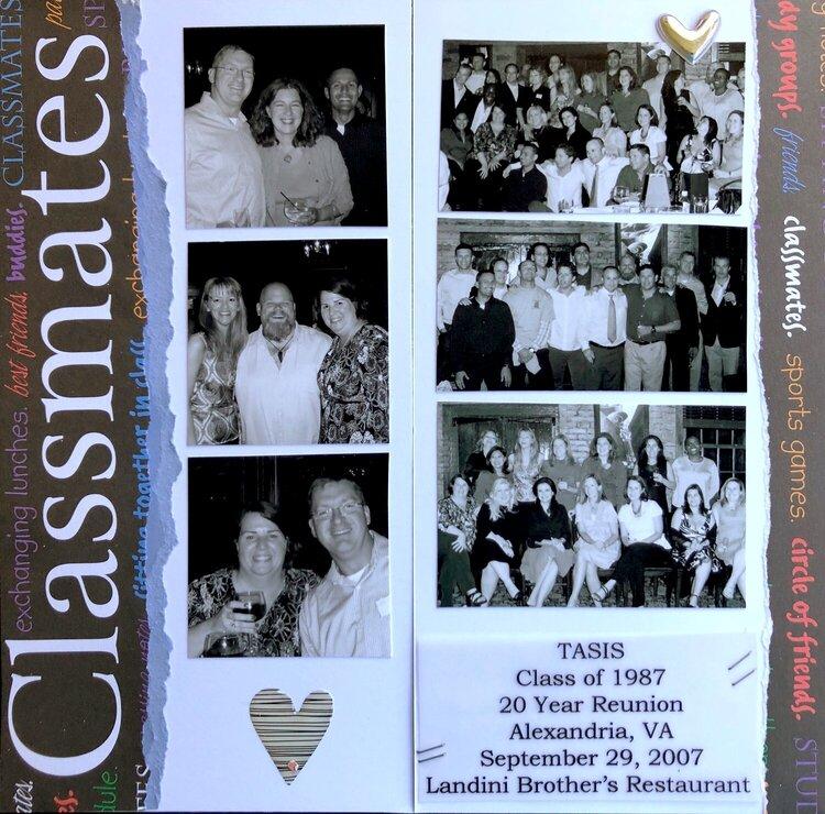 2007 Traveler's Notebook - 20 Yr Reunion
