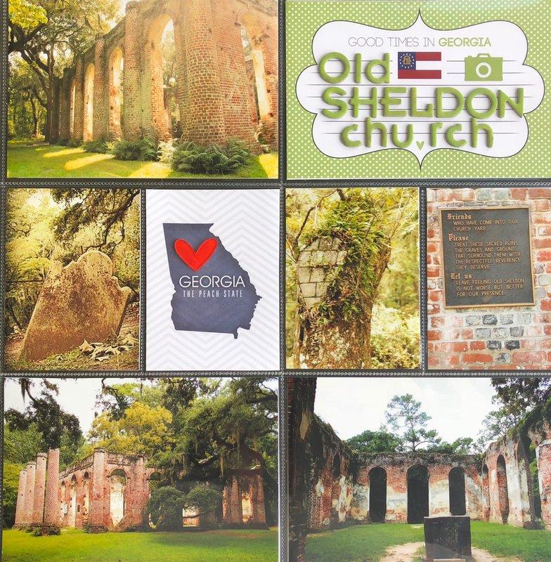 Old Sheldon Church Ruins - Outside Charleston