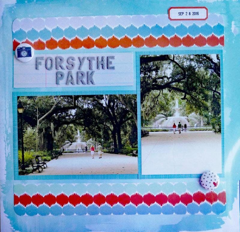 Forsythe Park Savannah