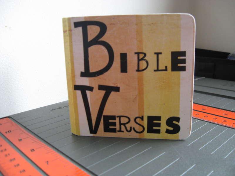 Bible Verse Book