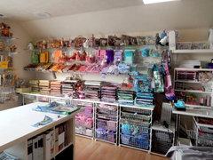 Rainbow Wall in My Craft Studio