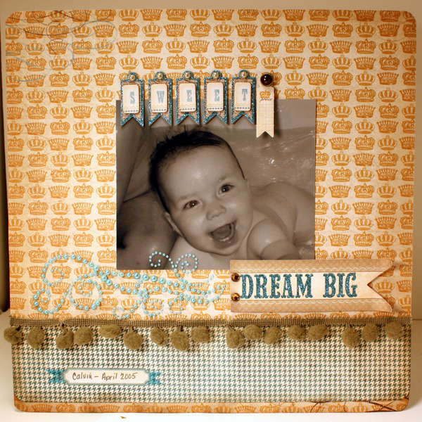 Dream Big Sweet Boy