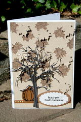 Happy Halloween Card **Carta Bella Paper dt**