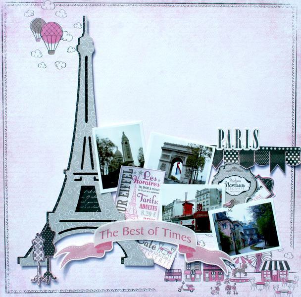 Paris **Carta Bella Paper dt**