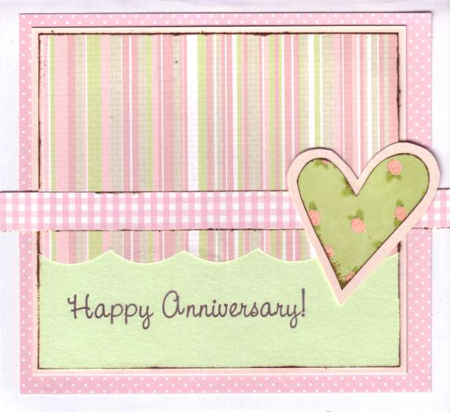 Mom and Dad's Anniversary Card