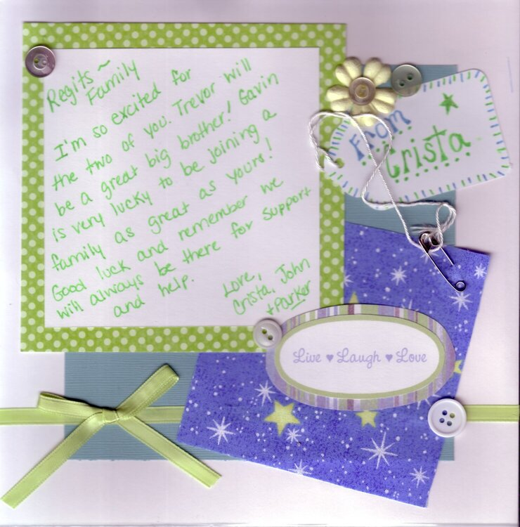 Baby Shower Guest Book PG 6