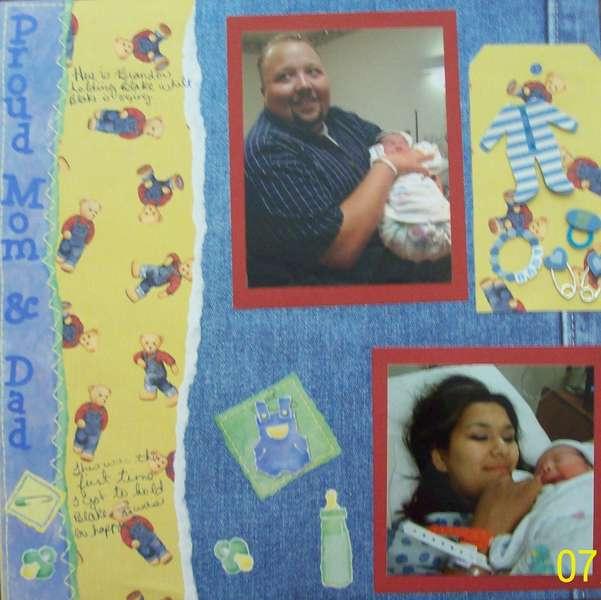 Proud Mom & Dad