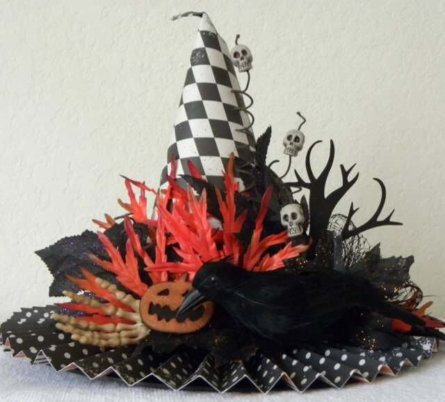 Witches Hat   ***Scrappy Chic Cafe***