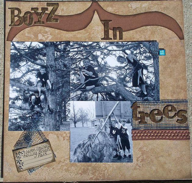 Boyz in trees