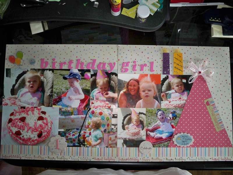 Birthday Girl 2pg LO