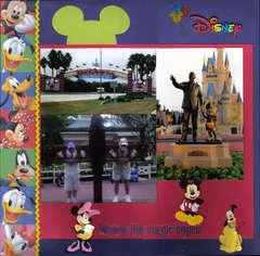 Disney Memories pg 1