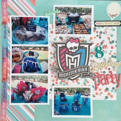Monster High 8th Birthday Party