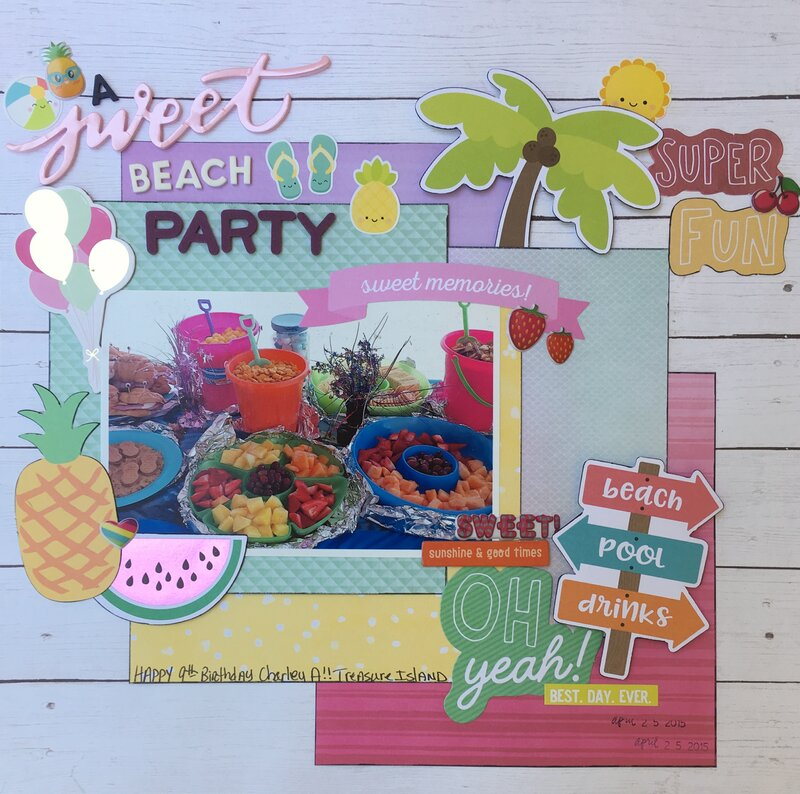 A Sweet Beach Party