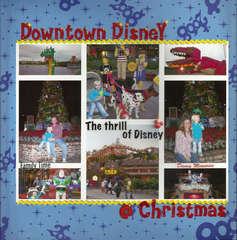 Downtown Disney @ Christmas