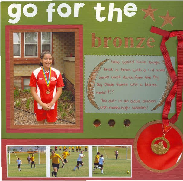 Go For The Bronze