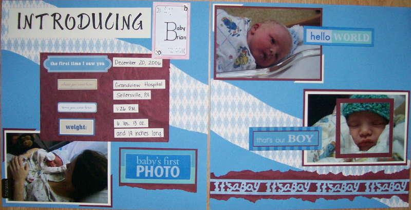 Introducing Baby Brian