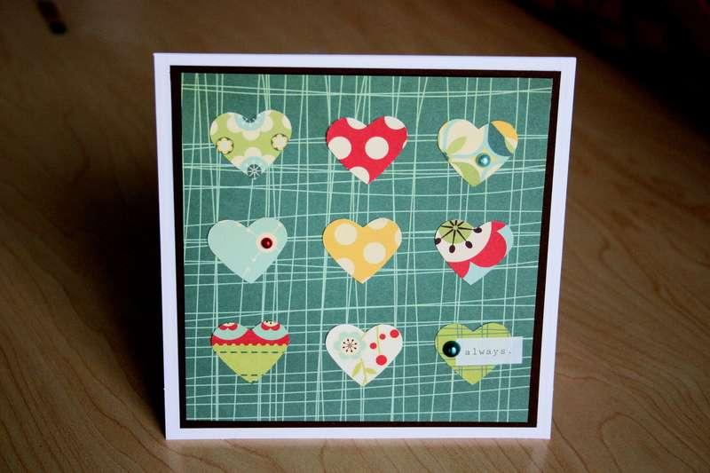 Always Card (Cosmo Cricket Early Bird)