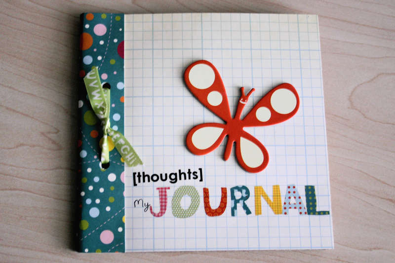 Thoughts Journal (Cosmo Cricket Girl Friday)