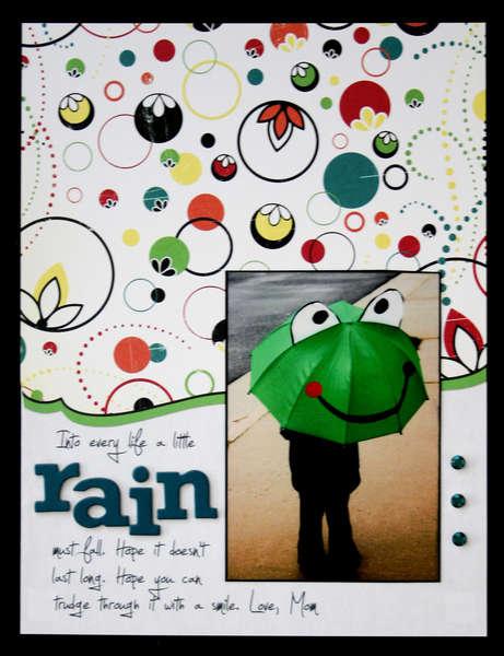 Rain (Cosmo Cricket Hello Sunshine)
