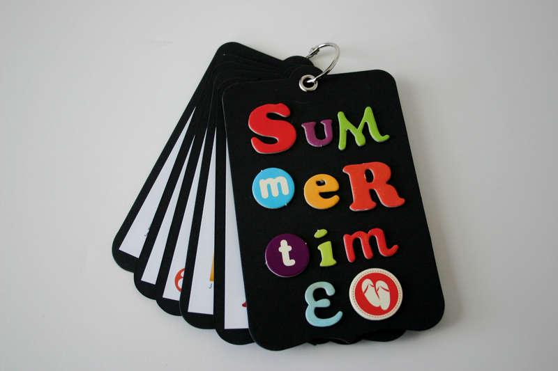 Summertime Mini Album *New Cosmo Cricket Snorkel