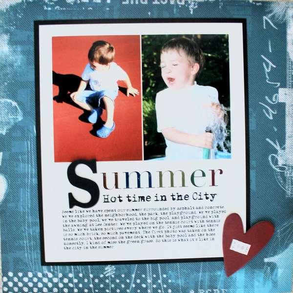 Summer (Cosmo Cricket)