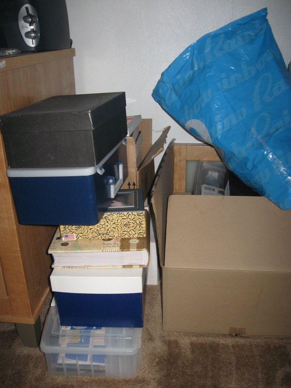 Before organization: Area #2 Computer Room