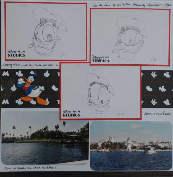 Drawing Donald