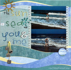 the sun, the sea, and you & me