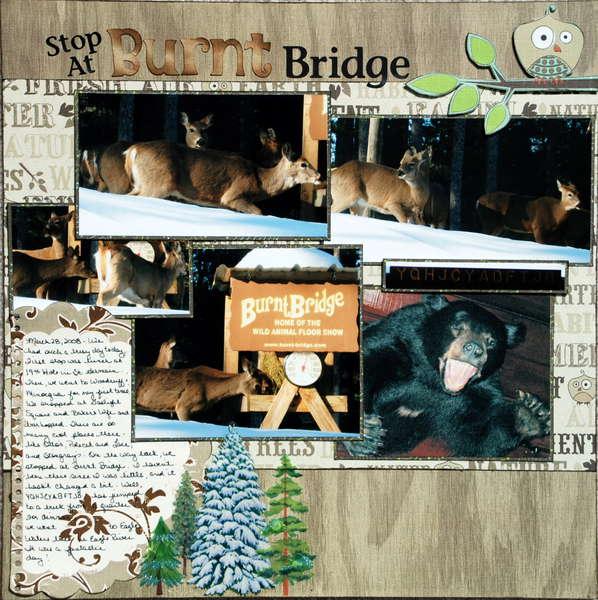 Stop at Burnt Bridge