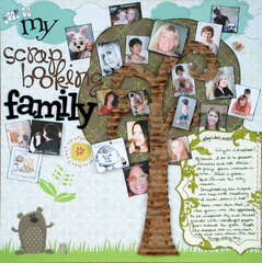 Part of my Scrapbooking Family
