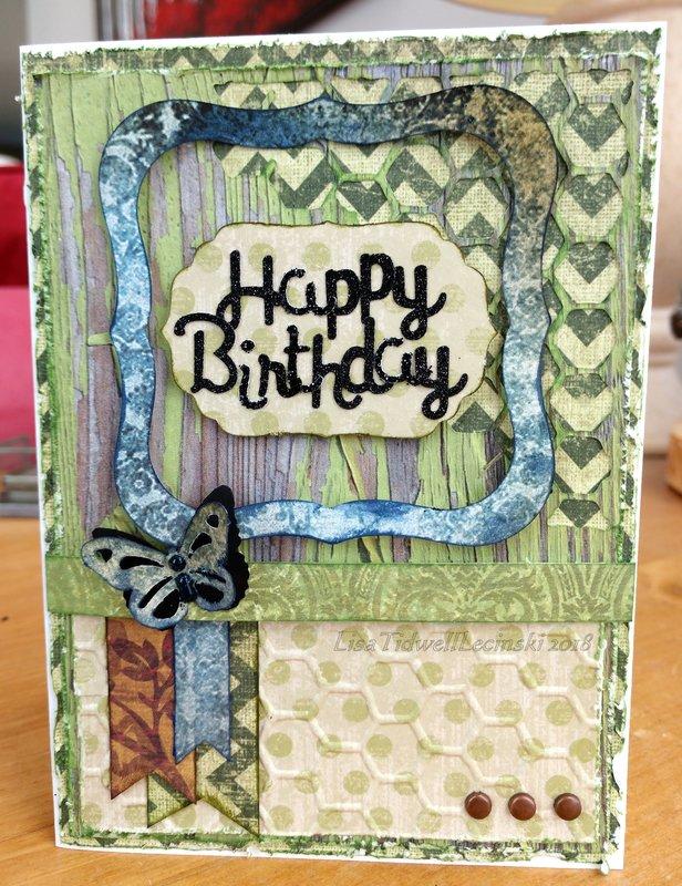 Happy Birthday (honeycomb)