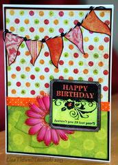 Happy Birthday - polka dots
