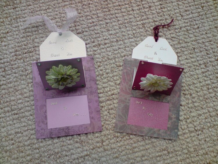 Tag Cards