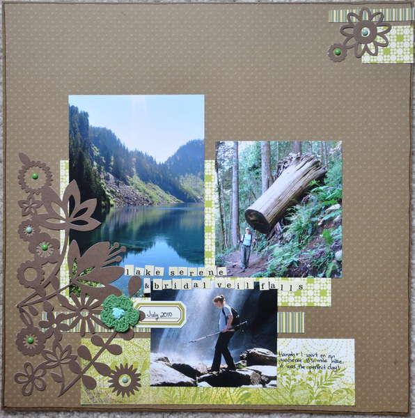 Lake Serene & Bridal Veil Falls