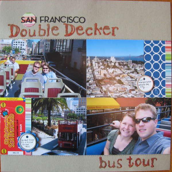 San Francisco Double Decker bus tour