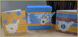 3x3 Box with Matching 3x3 Greeting Cards