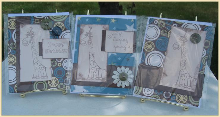 Birthday Set of Cards