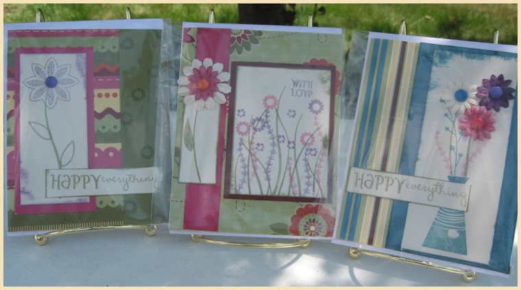 Set of 3 Cards-Happy Everything