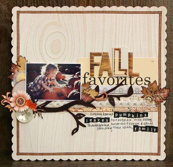 Fall Favorites *Cosmo Cricket Matilda and Haunted*