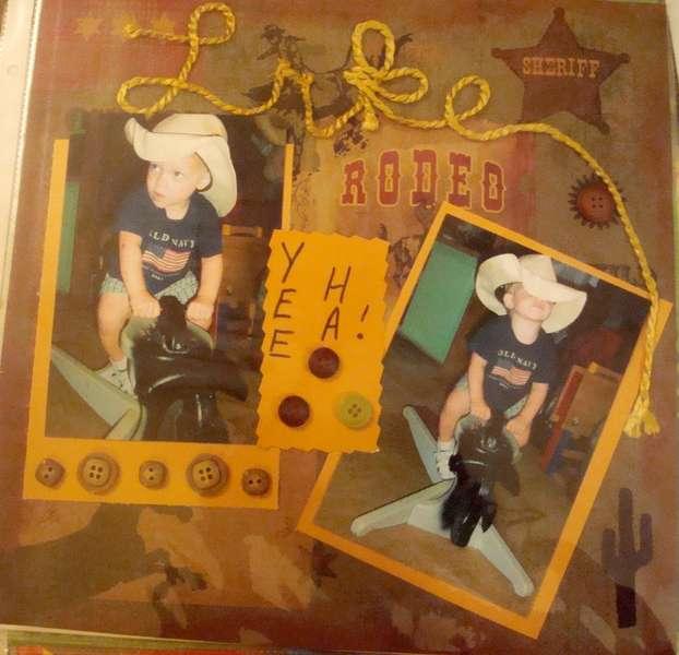 Bull Rider Luke